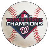 MLB - Washington Nationals  2019 World Series Champions Baseball Mat