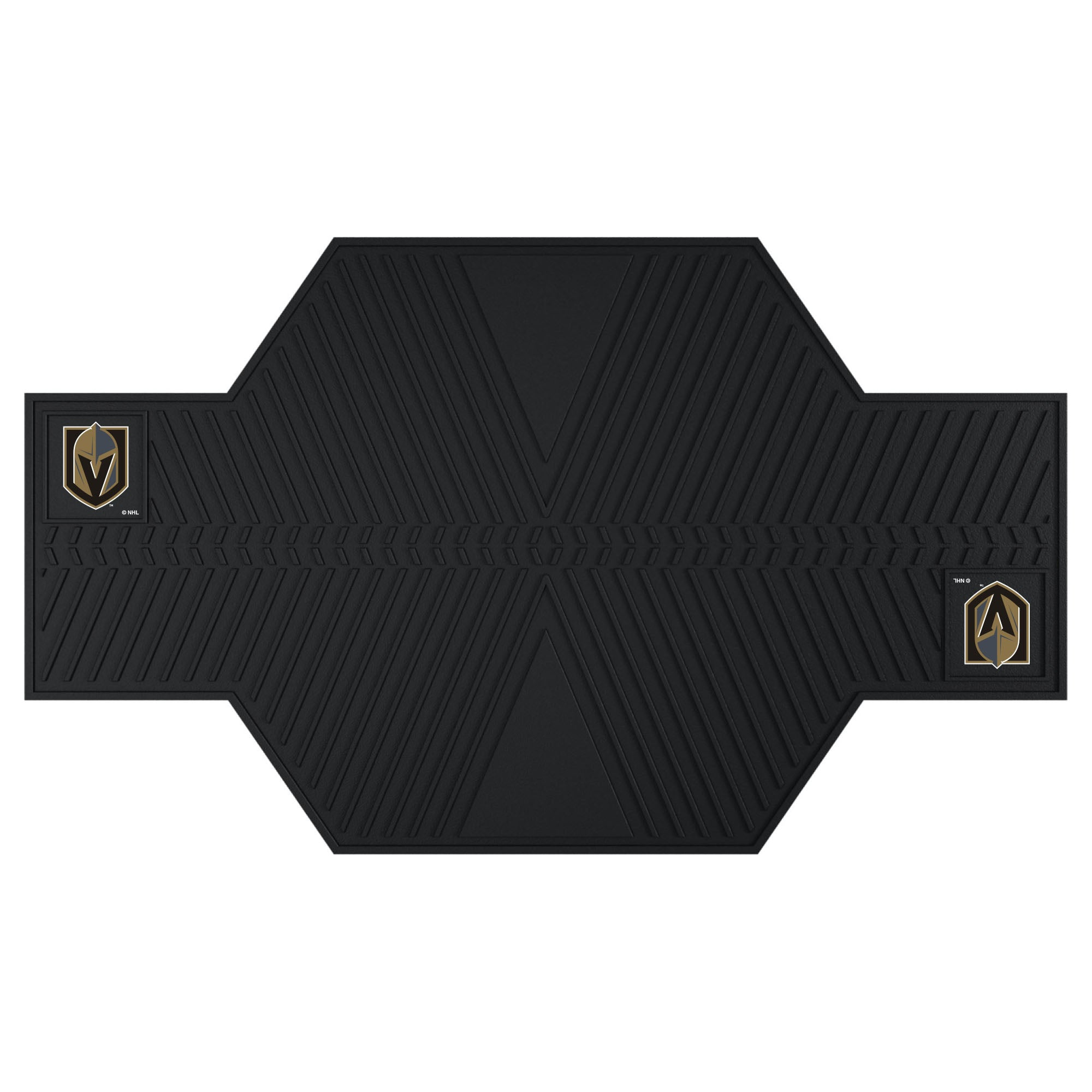 "NHL - Vegas Golden Knights Motorcycle Mat 82.5""x42"""