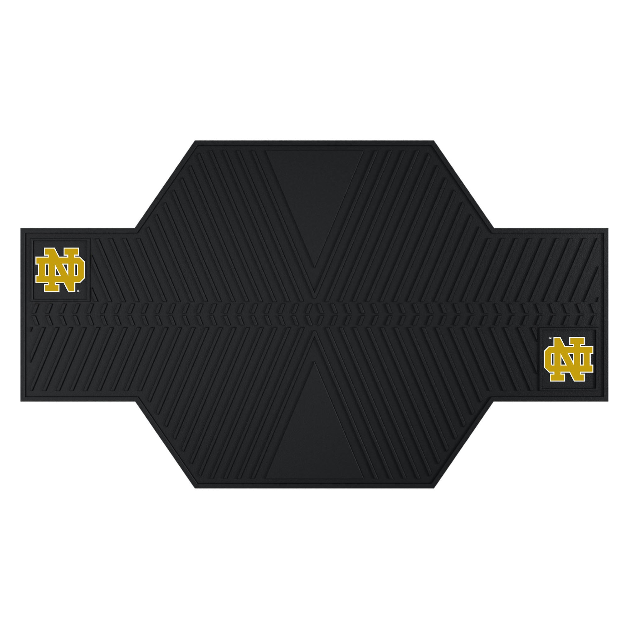 "Notre Dame Motorcycle Mat 82.5""x42"""
