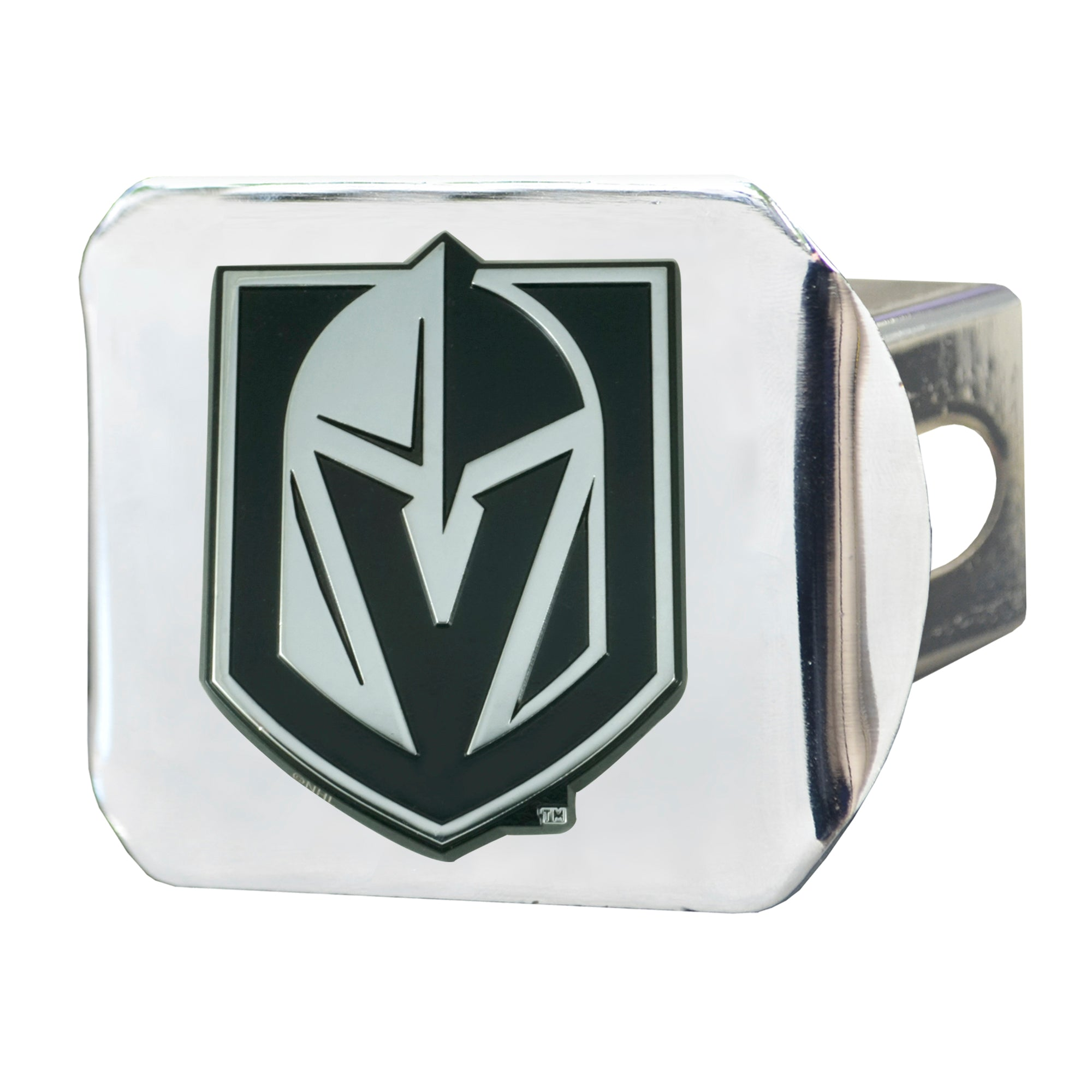 "NHL - Vegas Golden Knights Hitch Cover - Chrome 3.4""x4"""