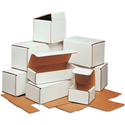 White Corrugated Mailers