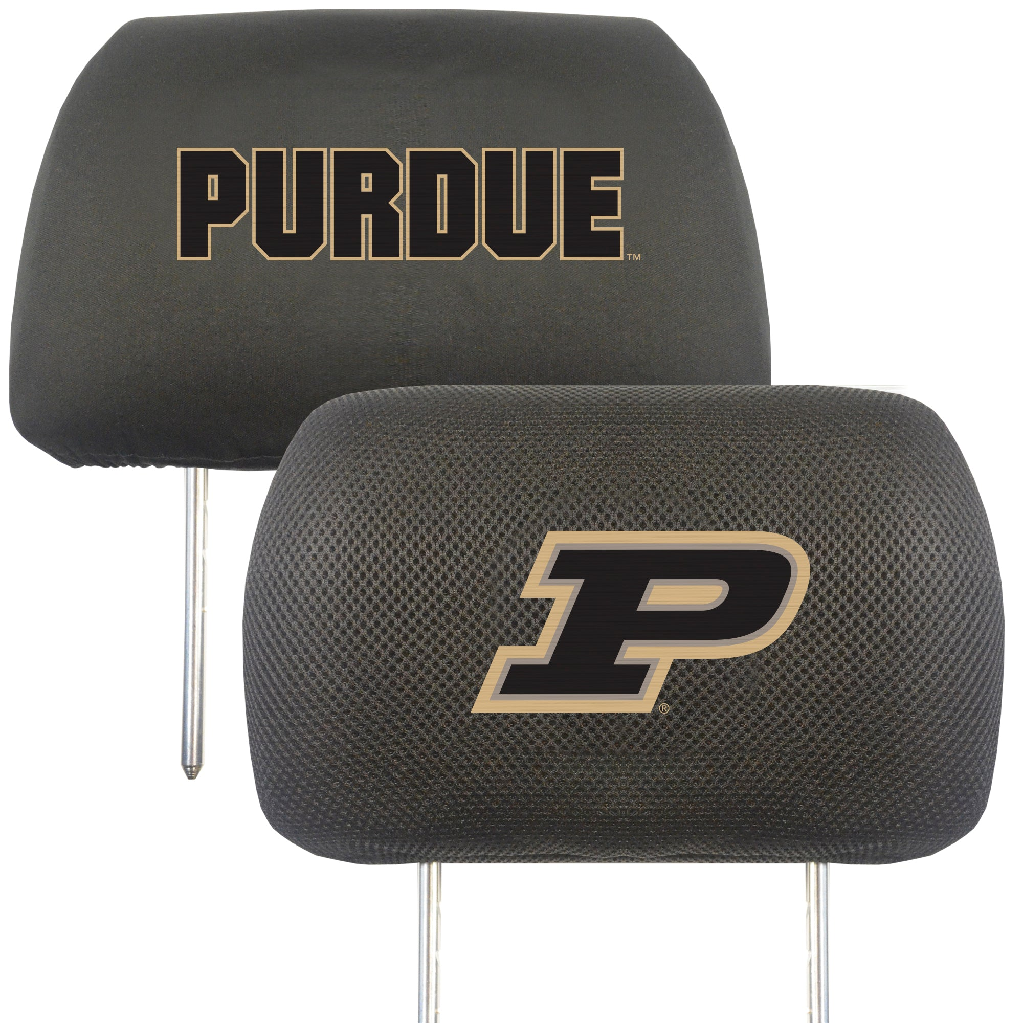 "Purdue University Head Rest Cover 10""x13"""