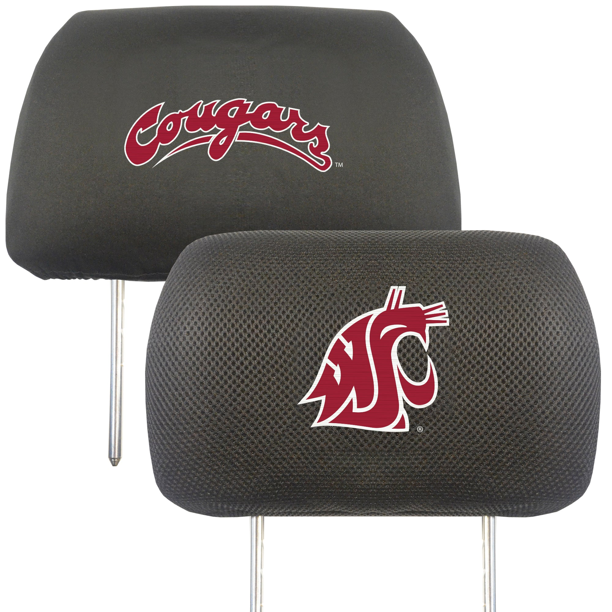 "Washington State University Head Rest Cover 10""x13"""