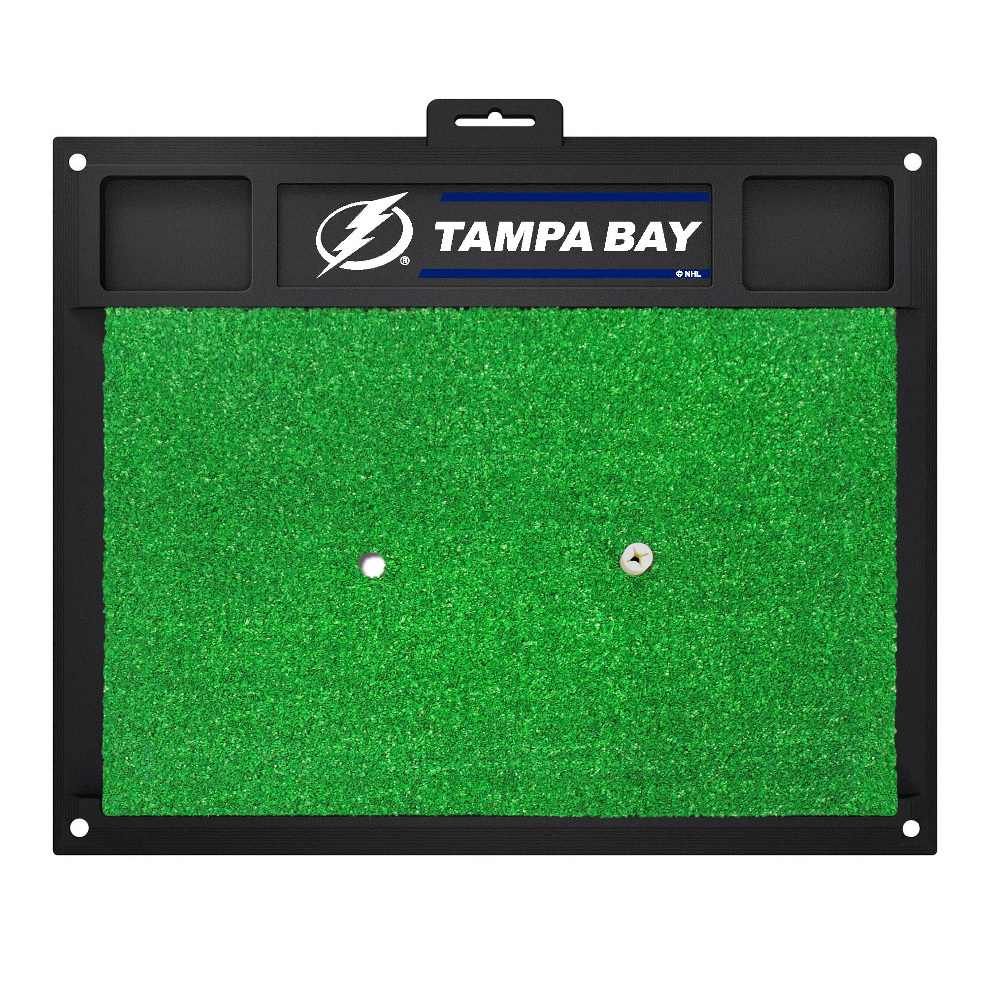 "NHL - Tampa Bay Lightning Golf Hitting Mat 20"" x 17"""