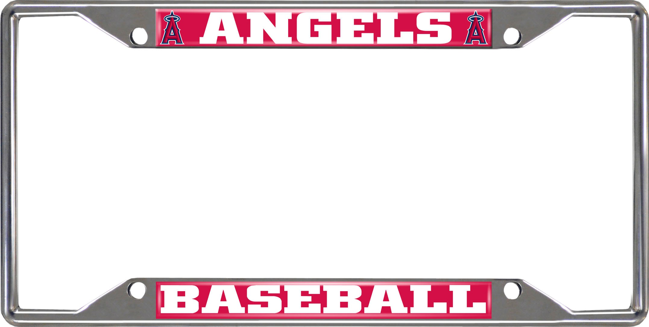 "MLB - Los Angeles Angels License Plate Frame 6.25""x12.25"""