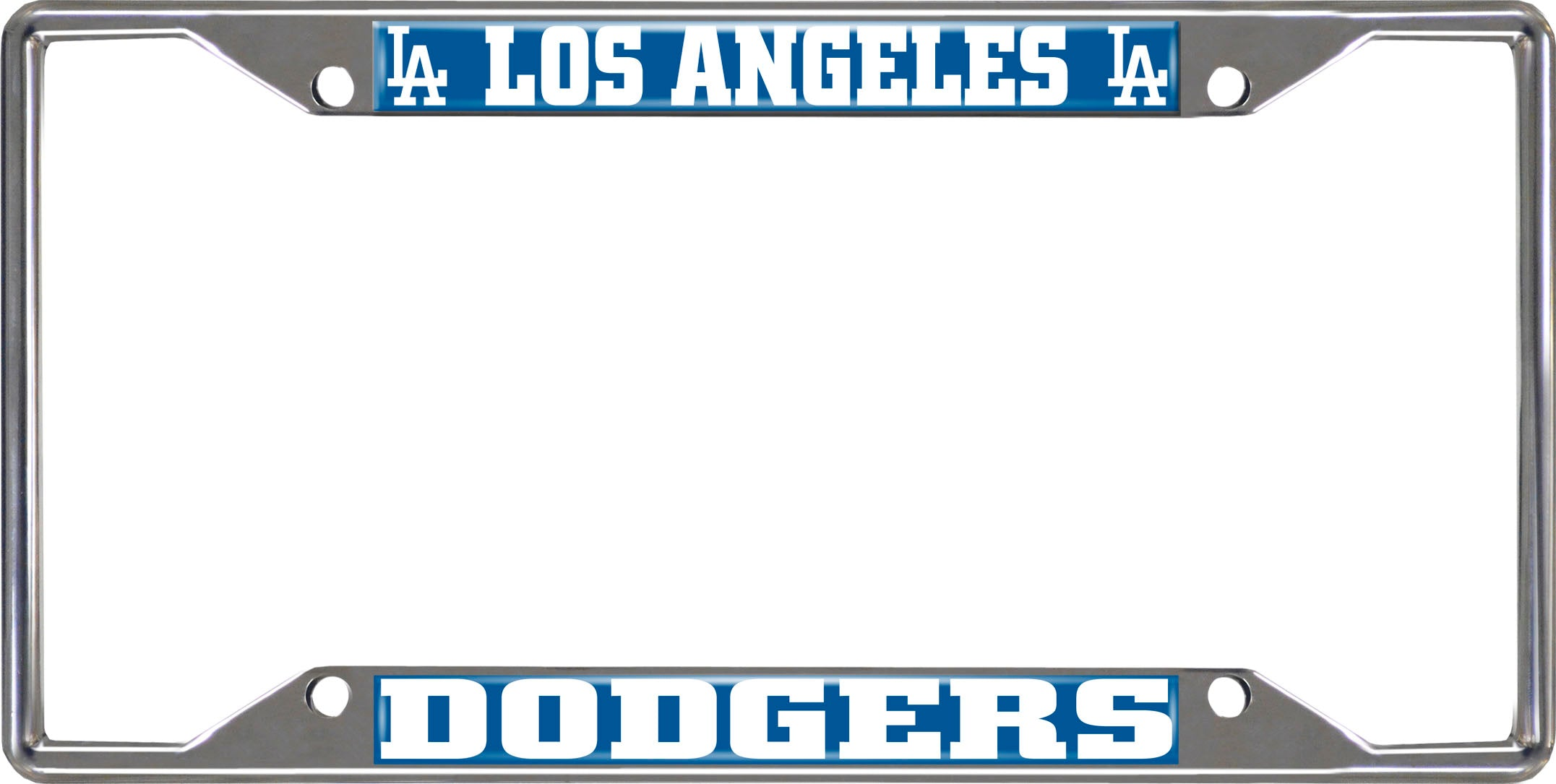 "MLB - Los Angeles Dodgers License Plate Frame 6.25""x12.25"""