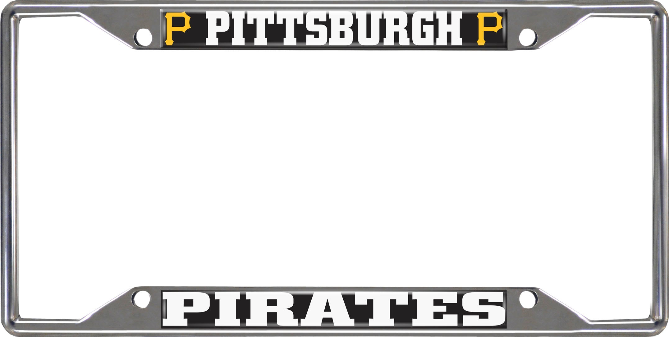 "MLB - Pittsburgh Pirates License Plate Frame 6.25""x12.25"""