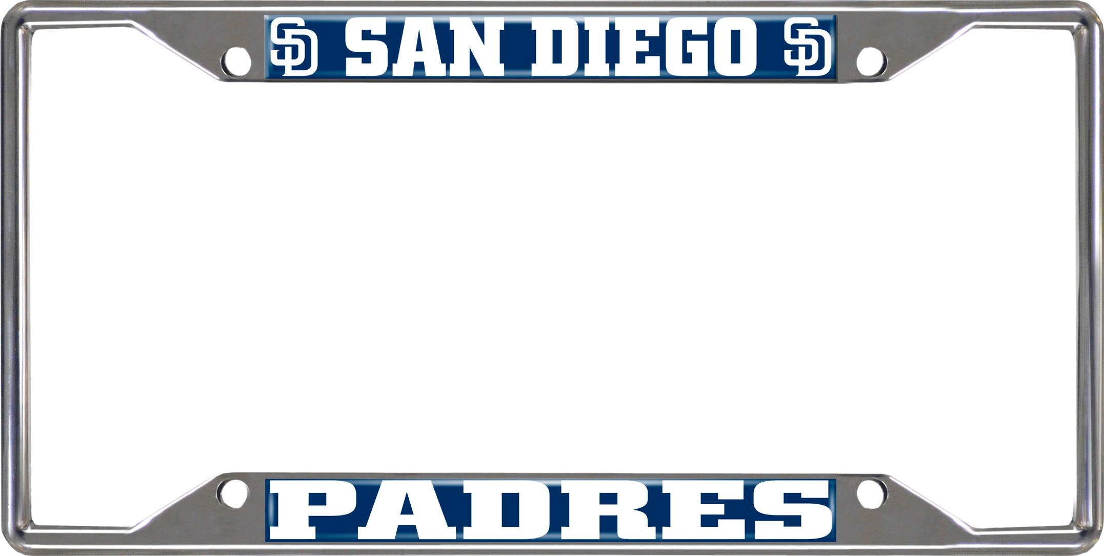 "MLB - San Diego Padres License Plate Frame 6.25""x12.25"""