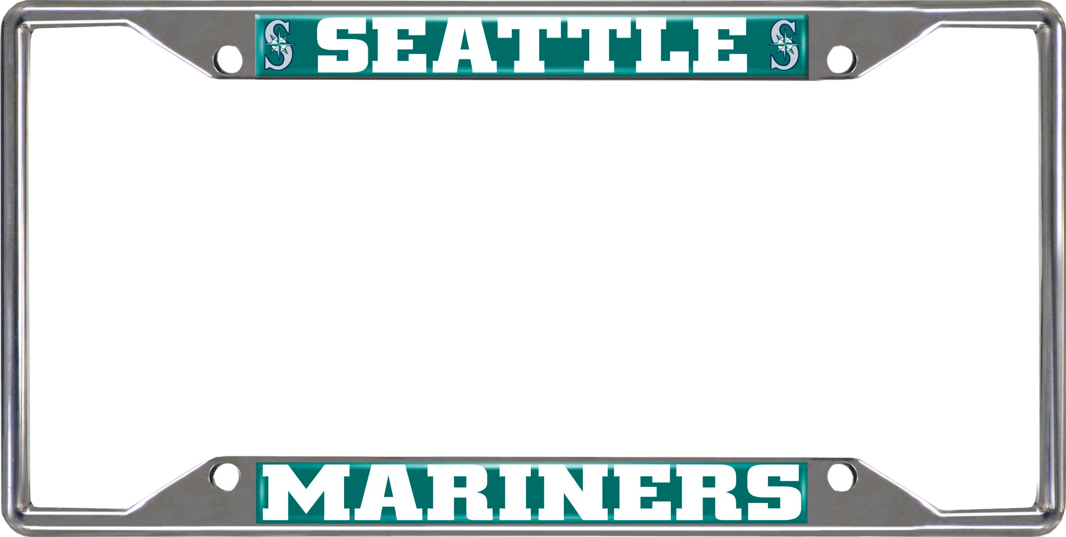 "MLB - Seattle Mariners License Plate Frame 6.25""x12.25"""