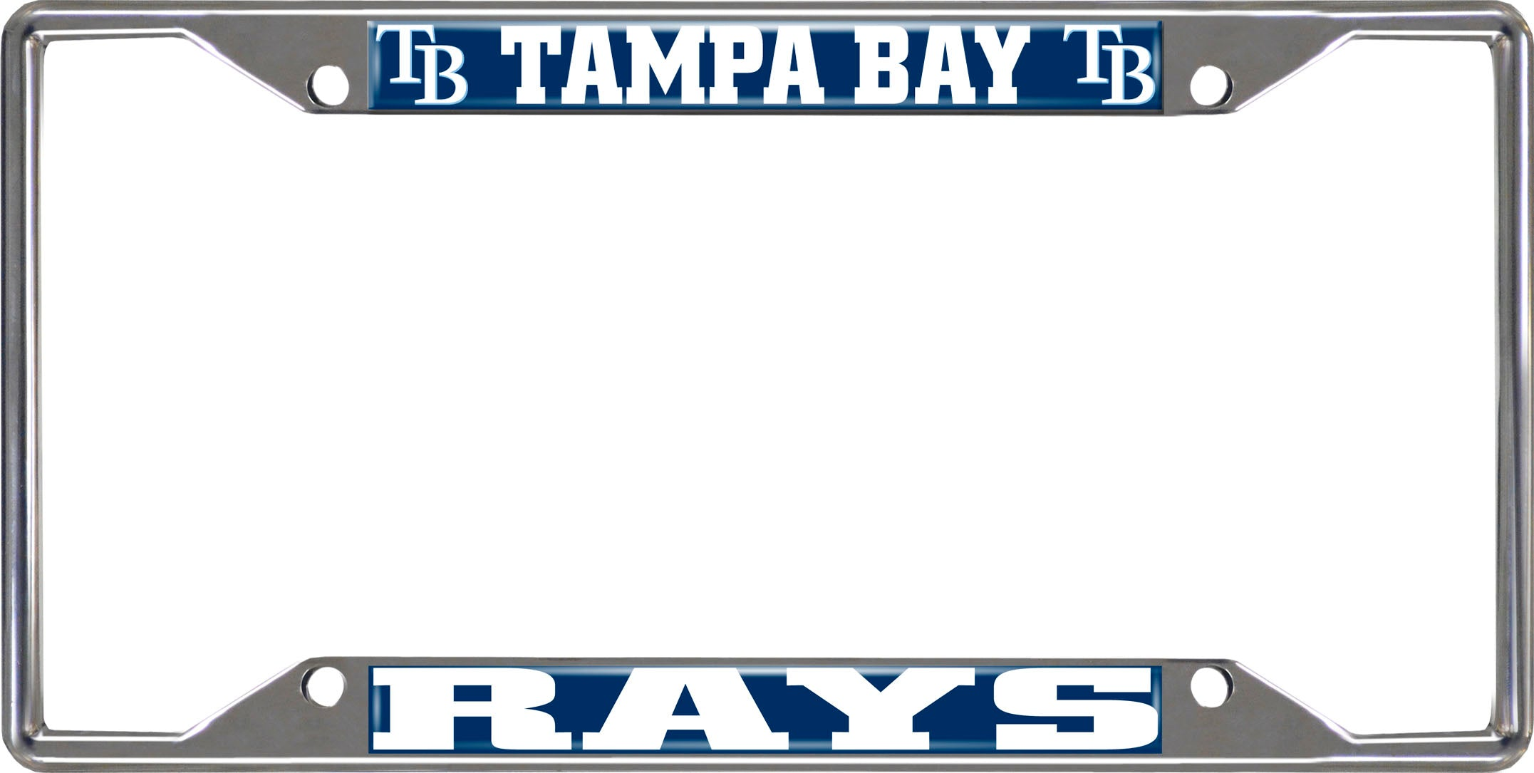 "MLB - Tampa Bay Rays License Plate Frame 6.25""x12.25"""