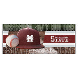 "Mississippi State University Baseball Runner 30""x72"""