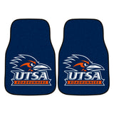 "University of Texas at San Antonio 2-pc Carpet Car Mat Set 17""x27"""