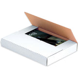 White Easy-Fold Mailers