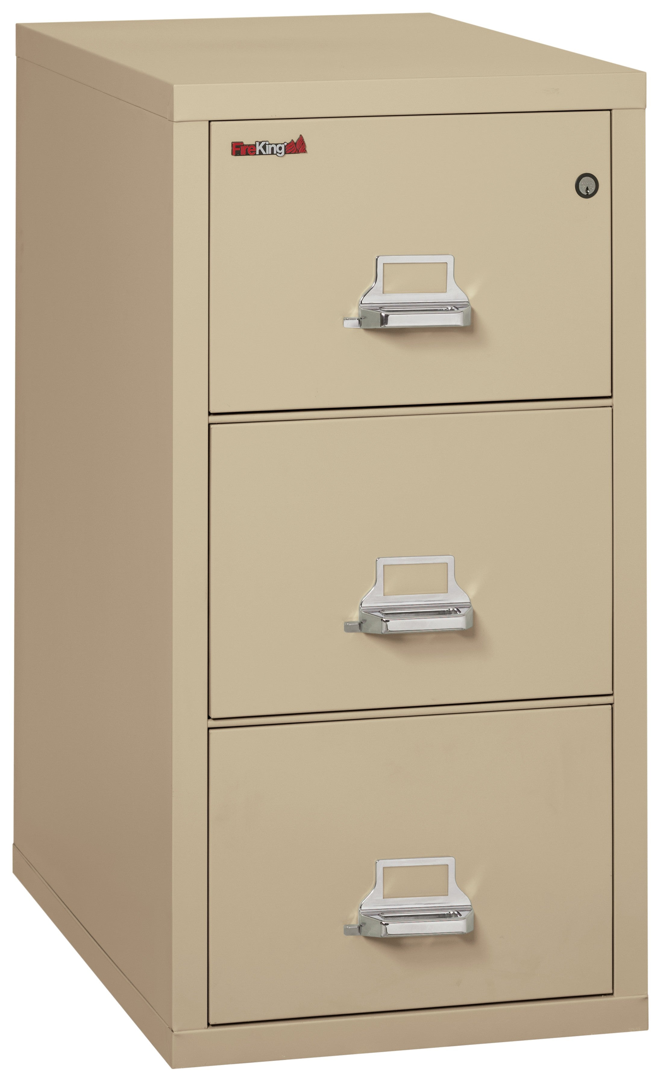 "Fireking 3 Drawer Letter 31"" D Classic Vertical File Cabinet"