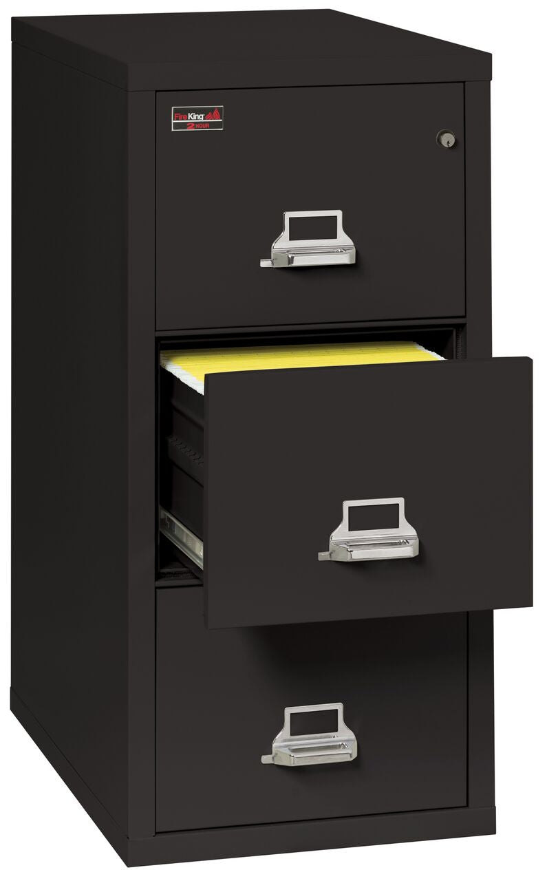 Fireking 3 Drawer Legal 2 Hour Rated File Cabinet