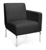 Model 3001L Triumph Series Pu Back Seat Left Arm Modular Lounge Chair