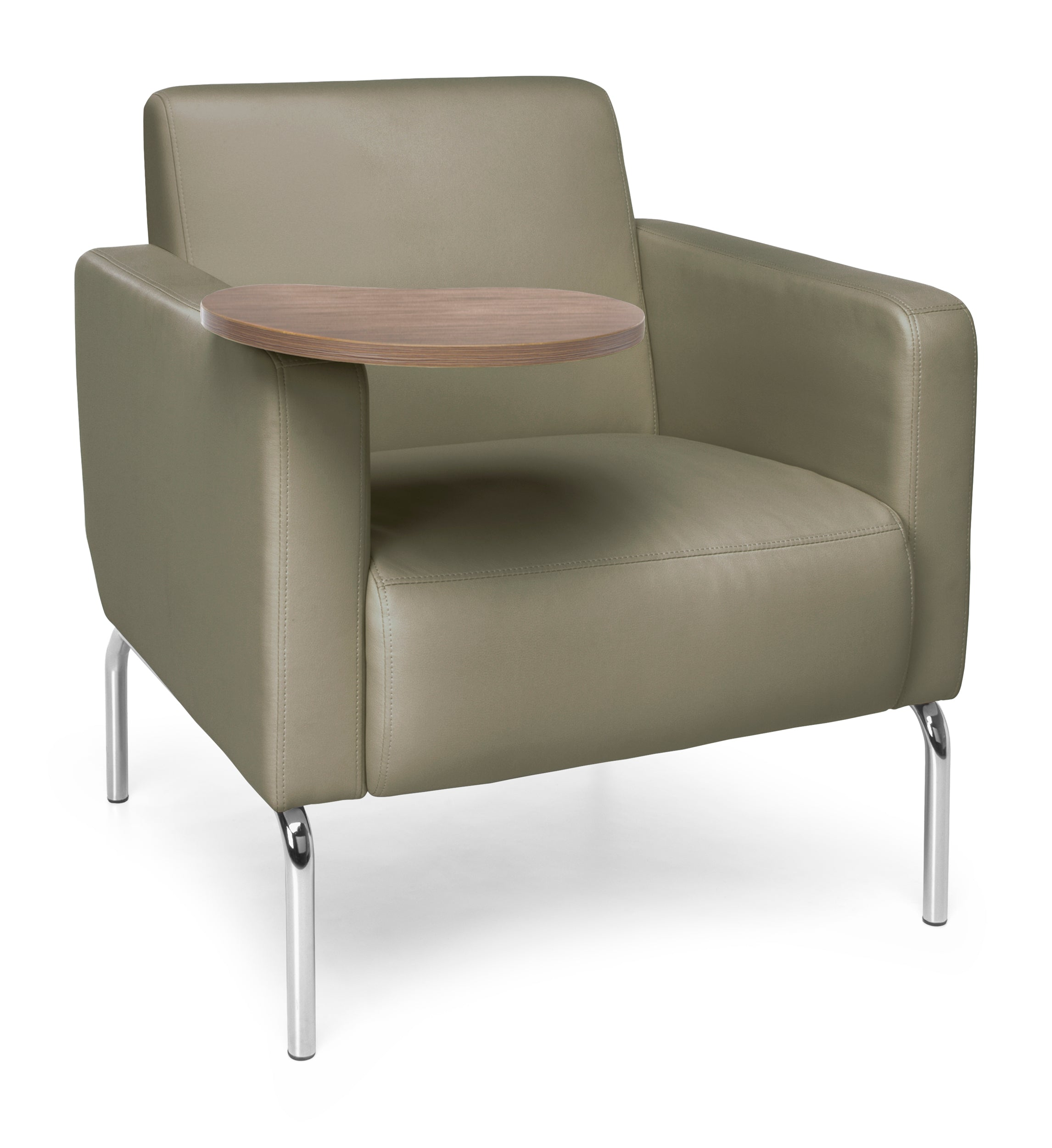 Ofminc Model 3002T Triumph Series Taupe Pu Back/Seat Lounge Chair