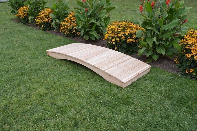 Outdoor Garden Furniture Plank Patio Bridge