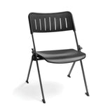 Ofminc 4 Pack Nesting Plastic Stack Chair P0 - Black