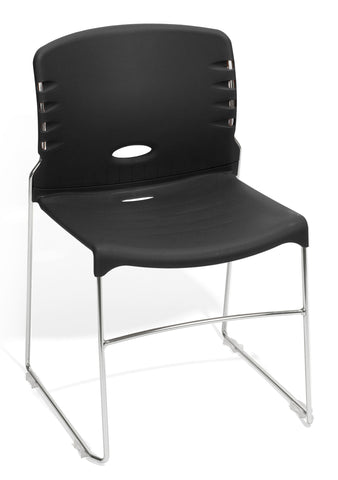 Ofminc Model 320-P Contract Plastic Seat & Back Stack Chair