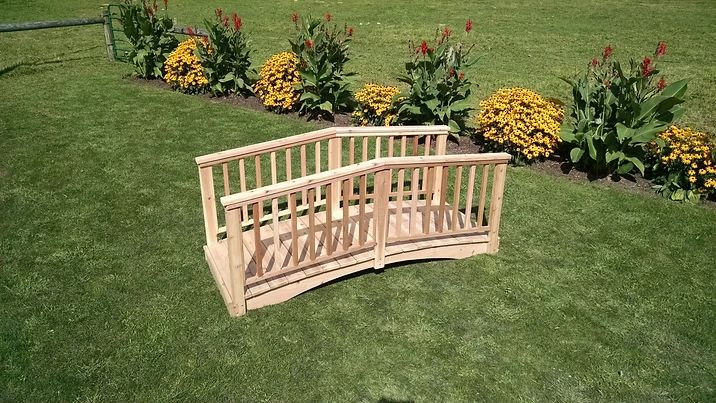 Outdoor Garden Furniture Baluster Bridge