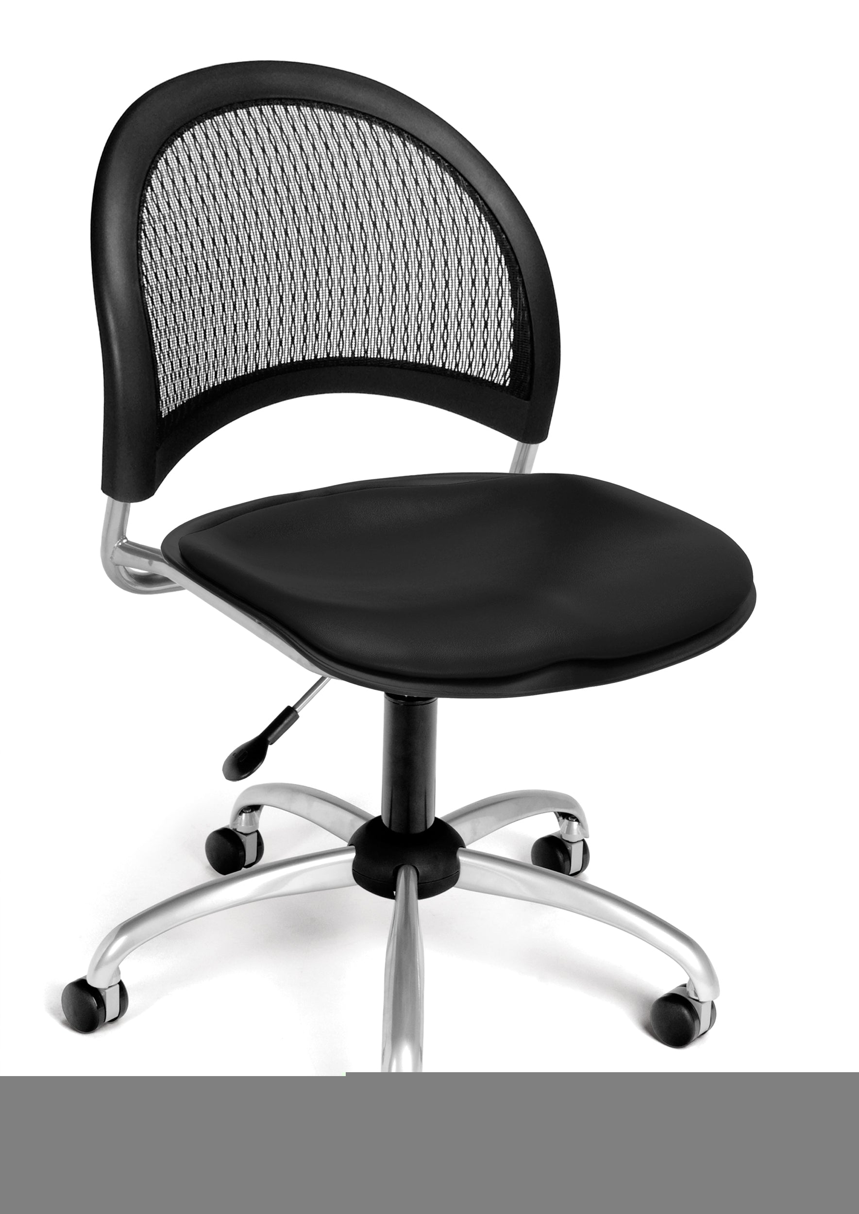 Ofminc Model 336-VAM Moon Series Armless Vinyl Swivel Chair