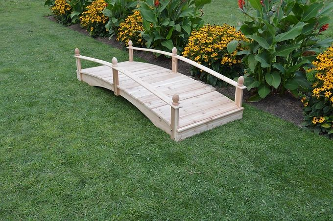 Outdoor Garden Furniture Acorn Patio Bridge