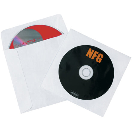 Tyvek Windowed CD/DVD Sleeves