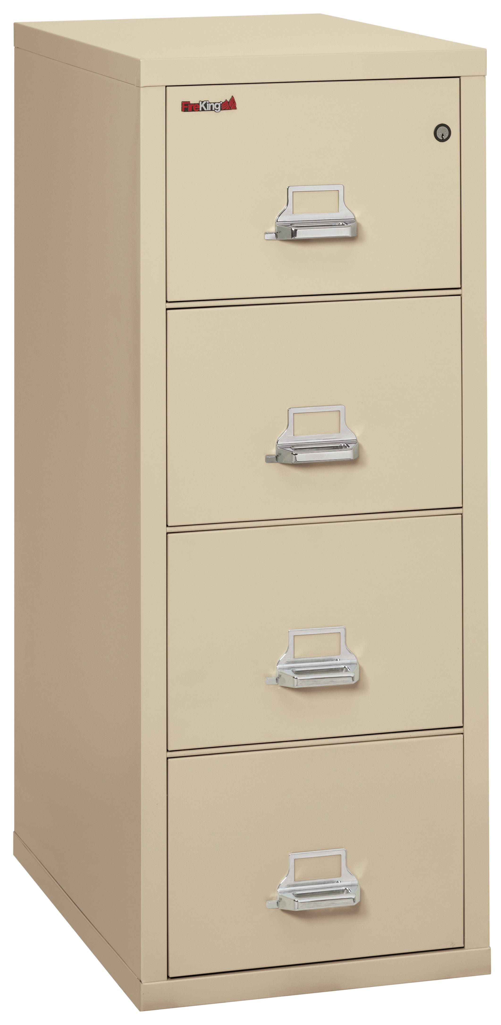 "Fireking 4 Drawer Legal 31"" D Classic Vertical File Cabinet"