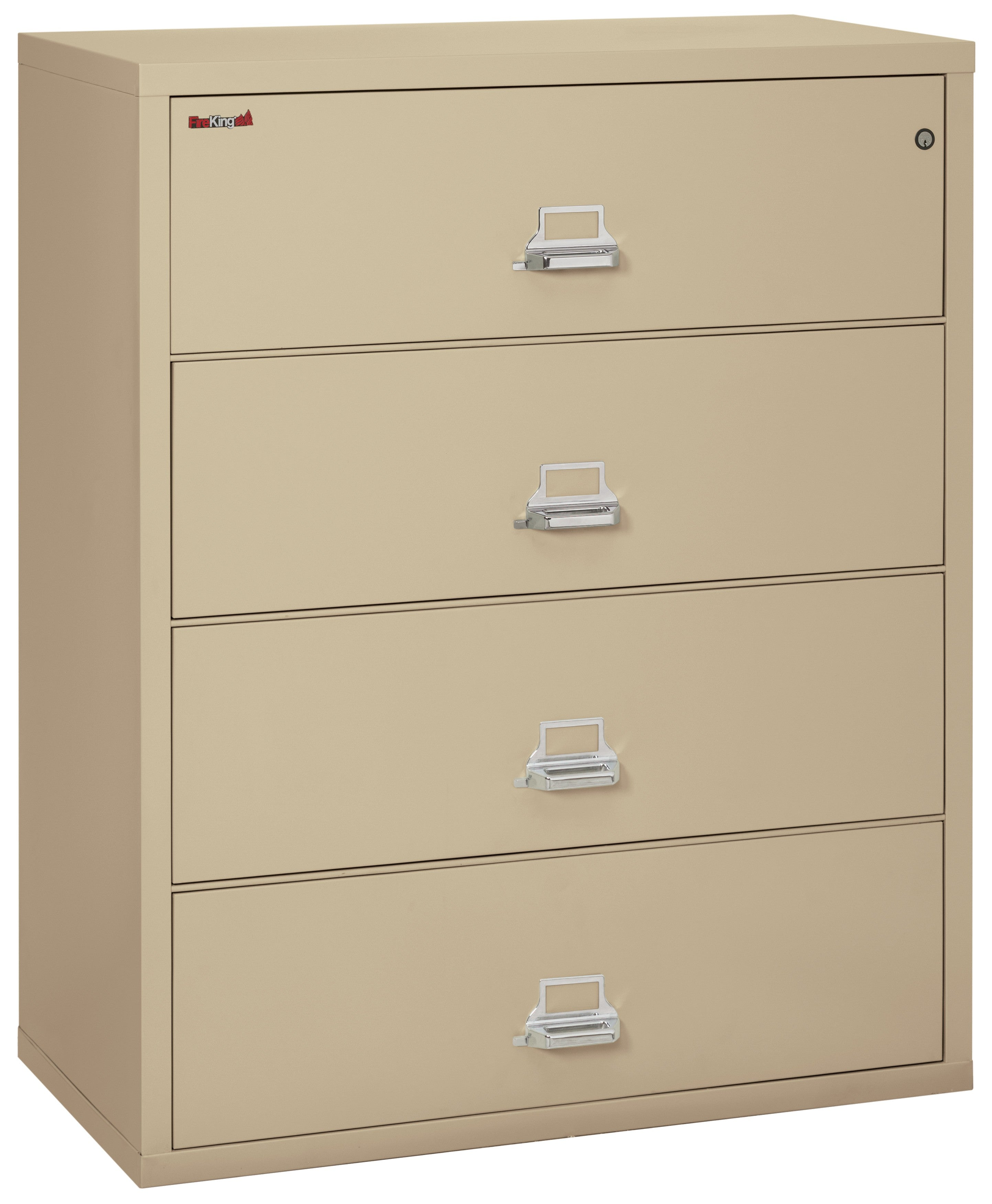 "Fireking 4 Drawer 44"" wide Classic Lateral File Cabinet"