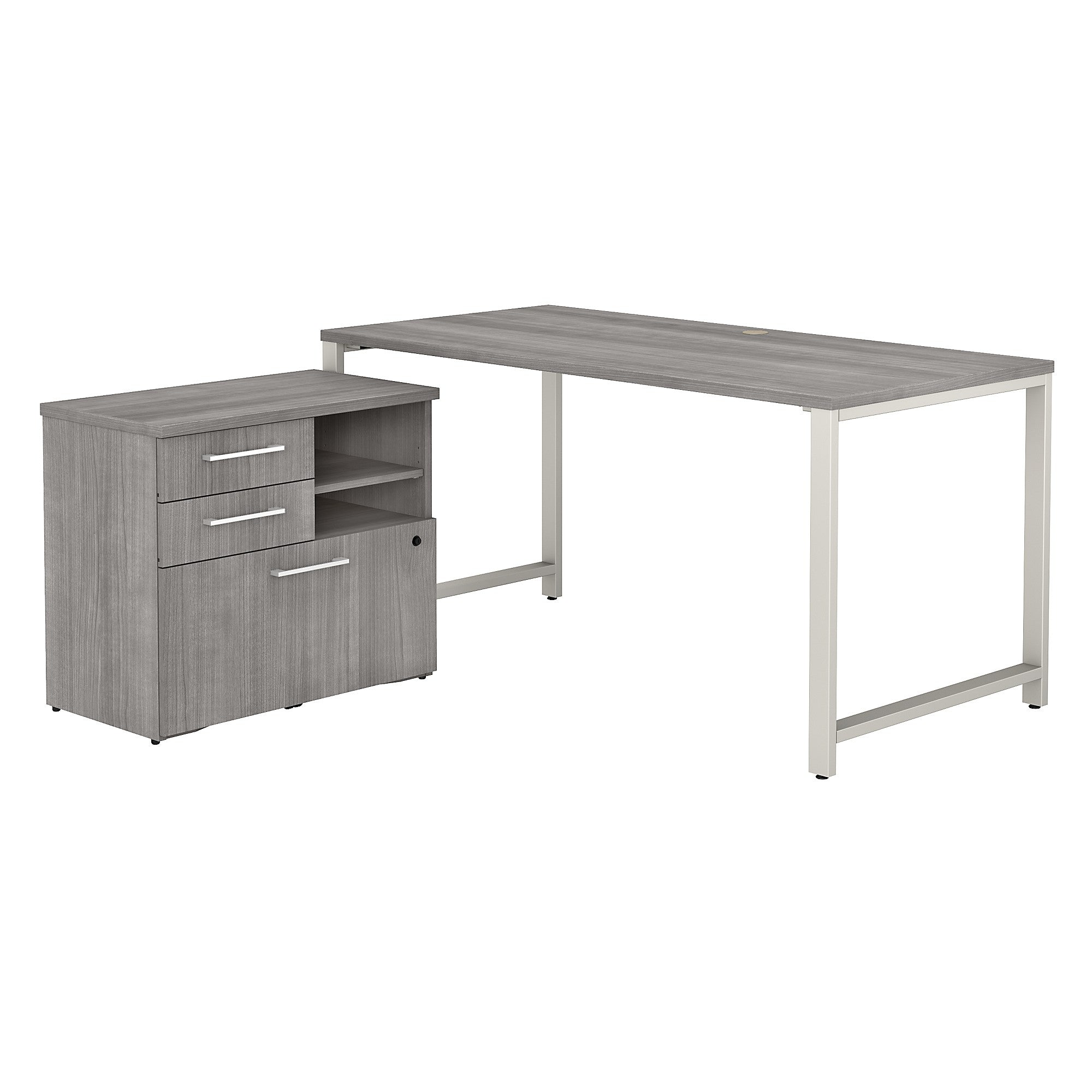 400 Series Table Desk with Storage