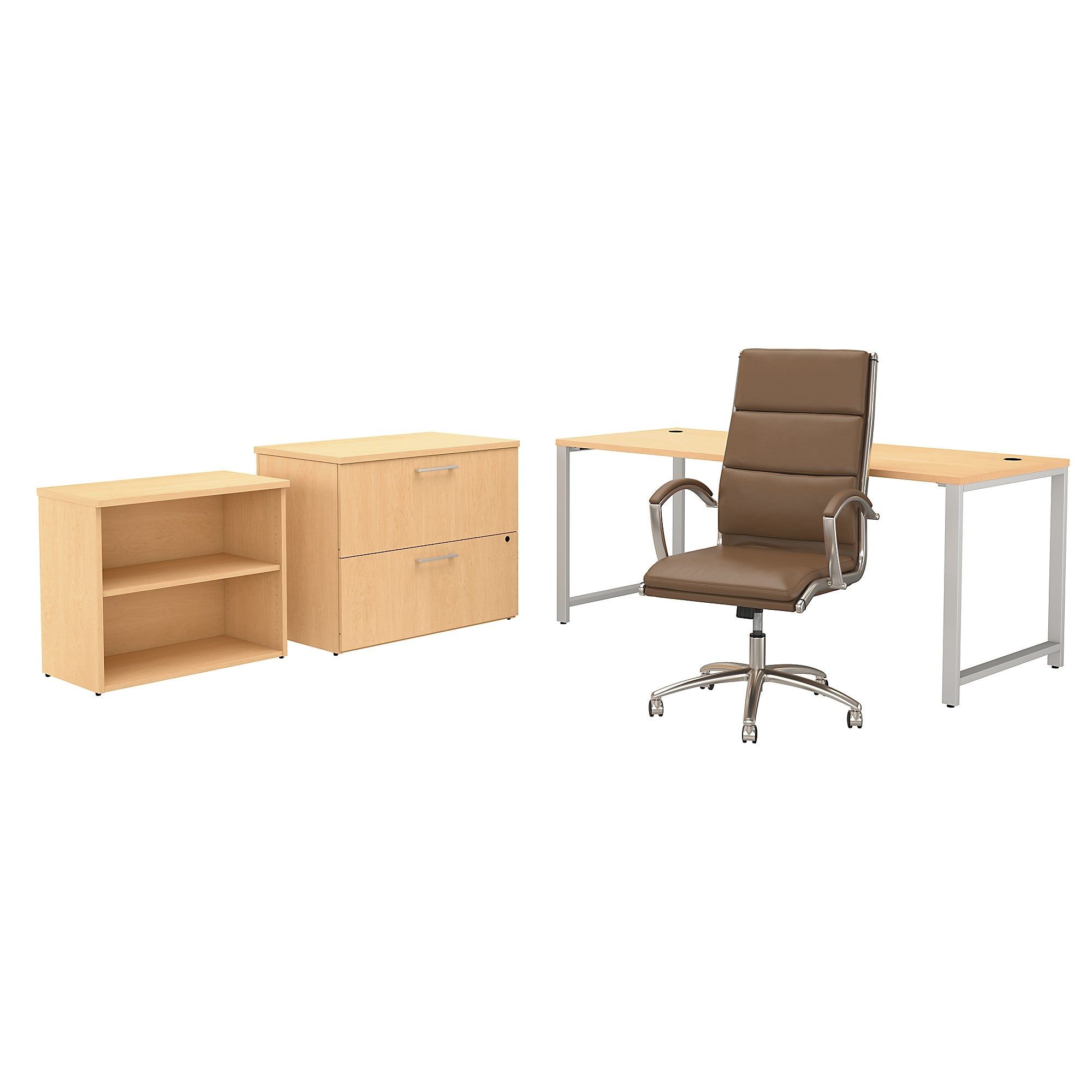 400 Series 72W x 30D Table Desk & Chair Set with Storage