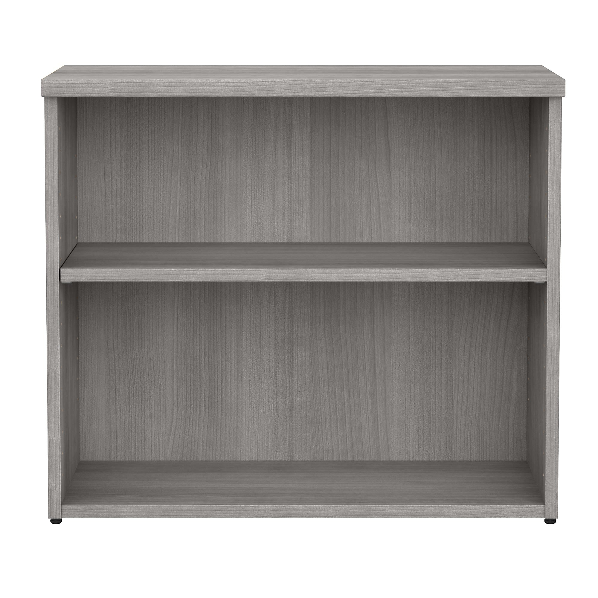 400 Series 30W Low Bookcase Cabinet -Platinum Gray