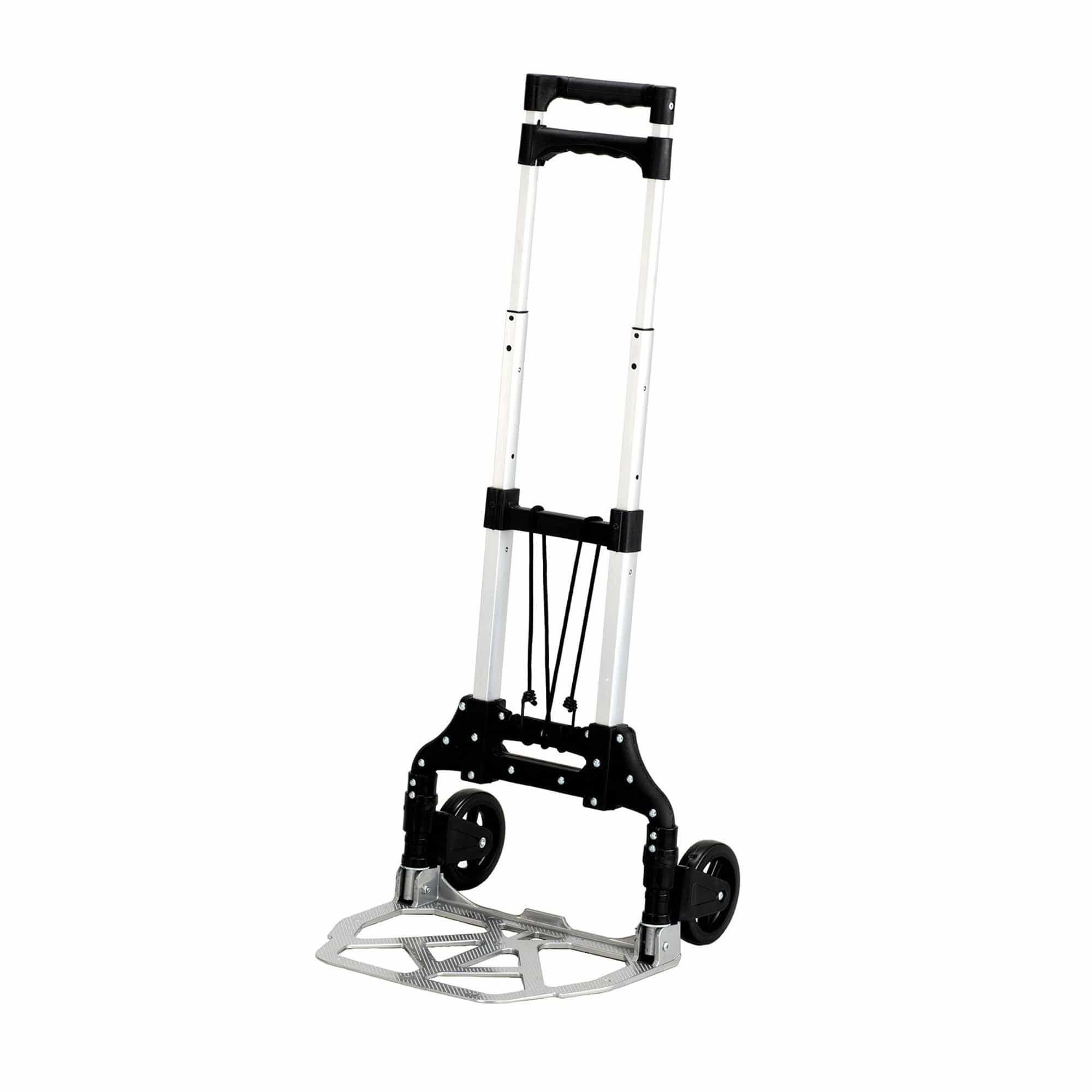 bedinhome - 4049NC Safco Stow & Go black light weight aluminum frame folding hand Cart - Safco - Folding Hand Trucks