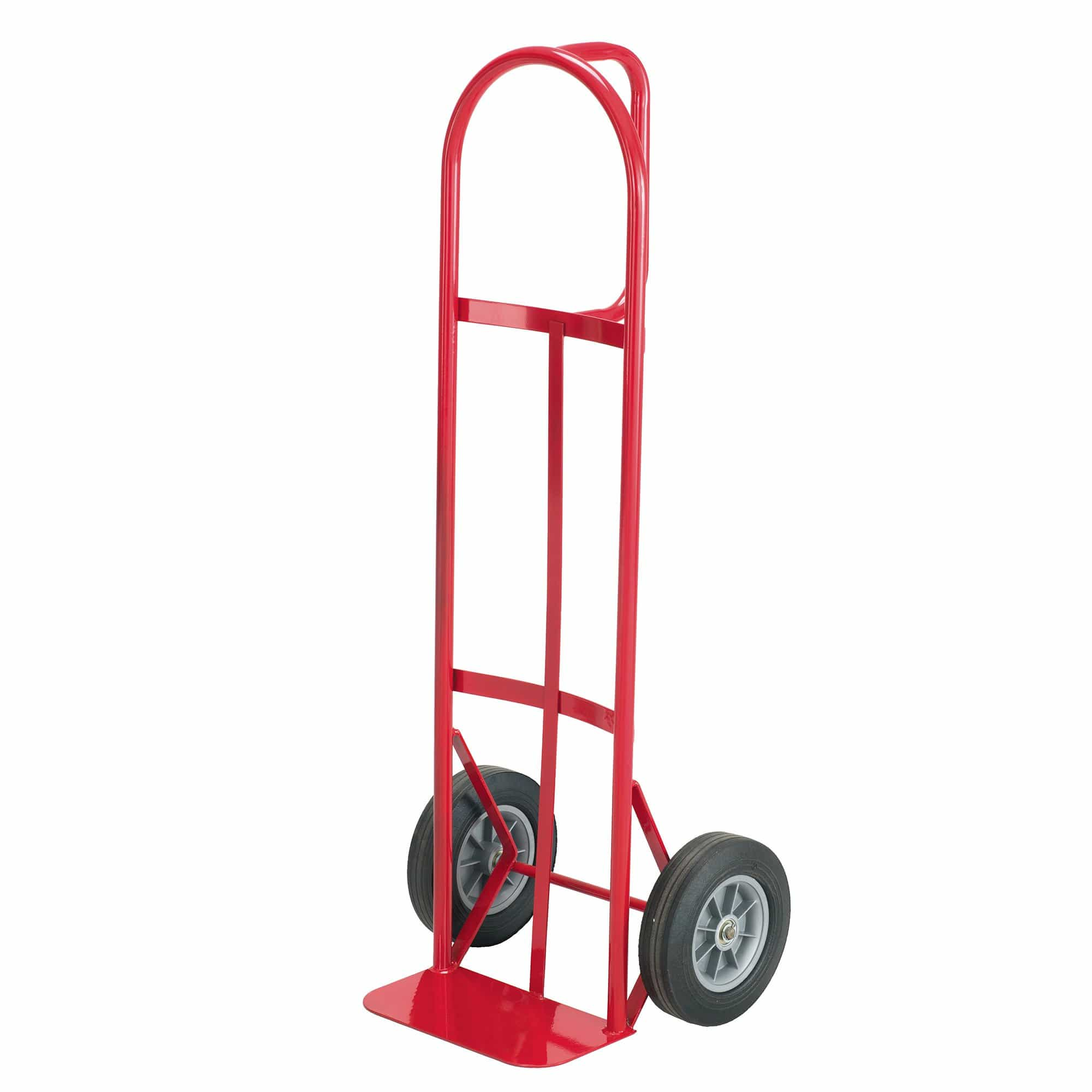 bedinhome - 4084R Safco Red powder coat finish dolly hand cart loop handle frame Truck - Safco - Steel Heavy Duty Hand Trucks