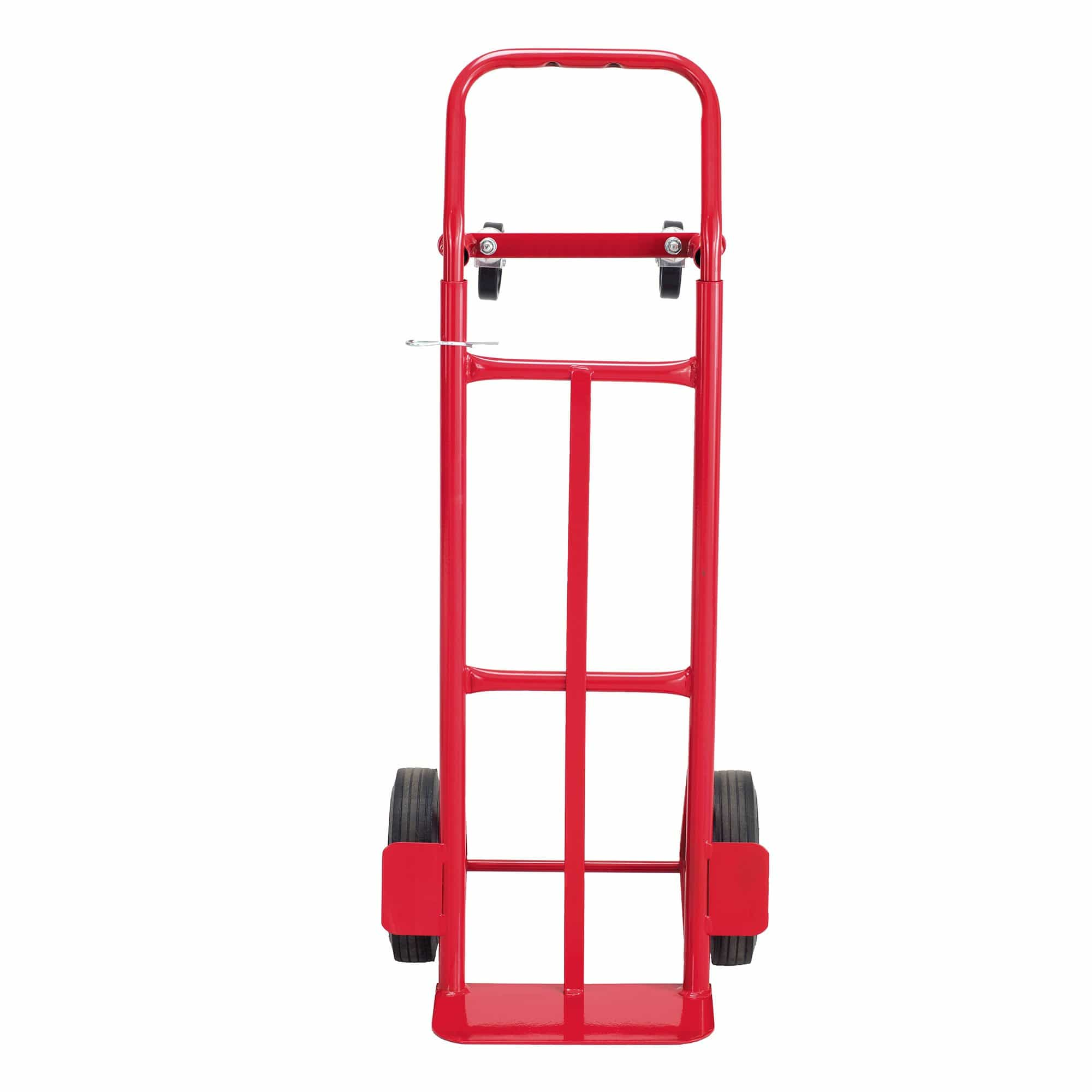 bedinhome - 4086R Safco Red powder coat finish Convertible Heavy-Duty 2-wheel Hand cart Truck - Safco - Steel Heavy Duty Hand Trucks