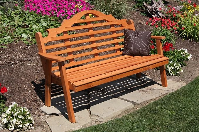 Outdoor Garden Furniture Marlboro Garden Bench Made In USA
