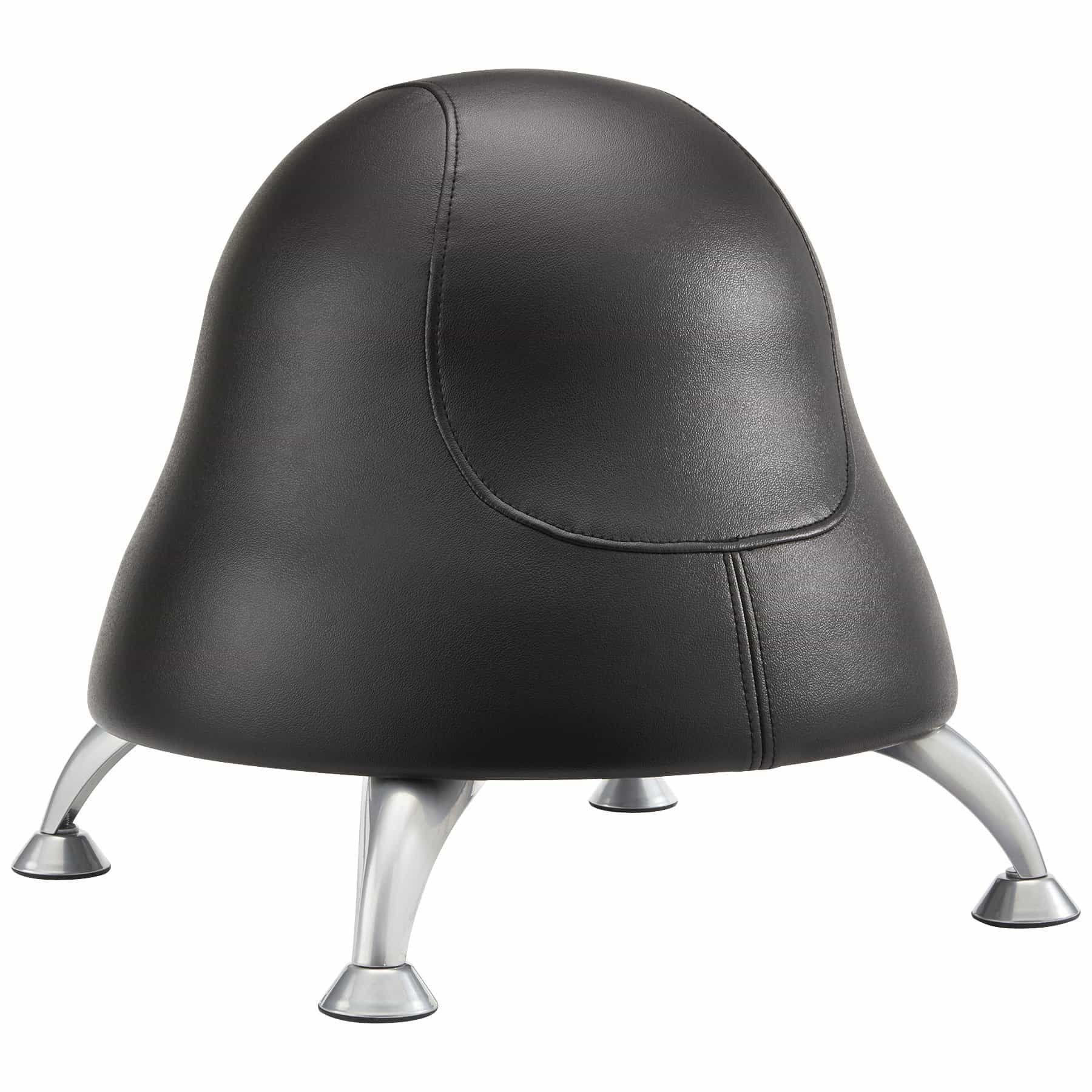 bedinhome - 4756BV Safco Black Runtz four legs vinyl fabric covered Ball Chair - Safco - Specialty Seating