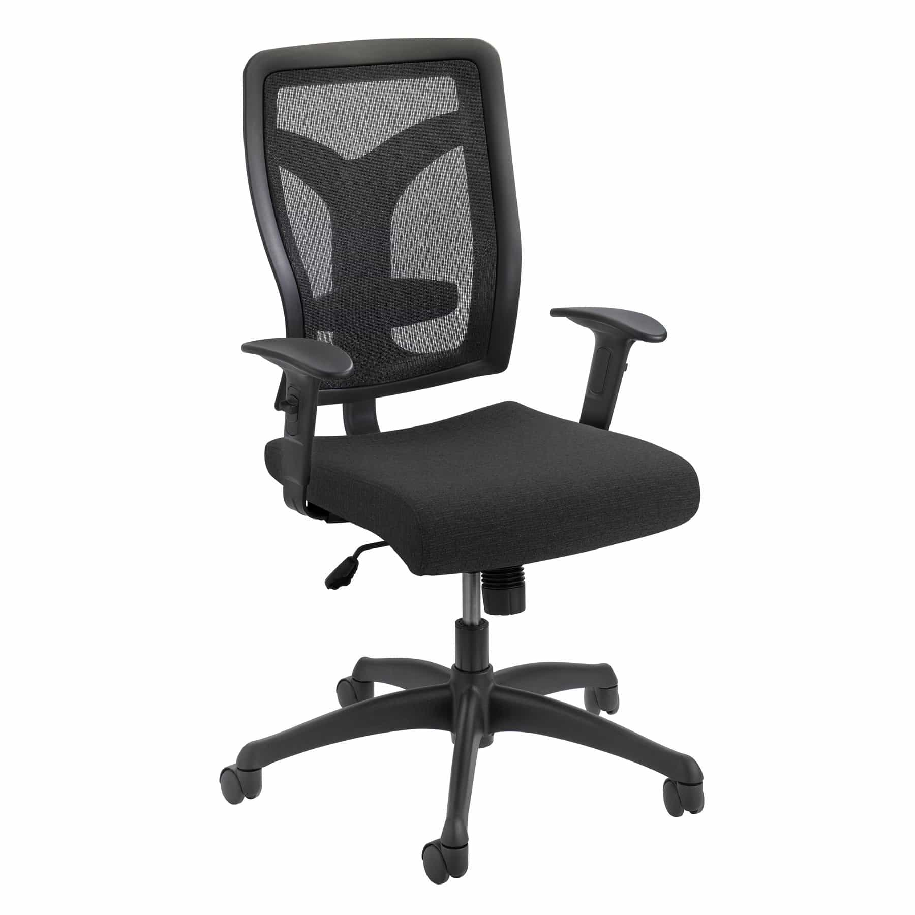 bedinhome - 5086BL Office Furniture Voice Series Mesh Back & upholstered seat Task Chair - Safco - Management/Task Seating