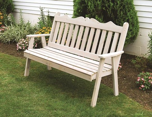 Outdoor Garden Furniture Royal English Garden Bench Made In USA