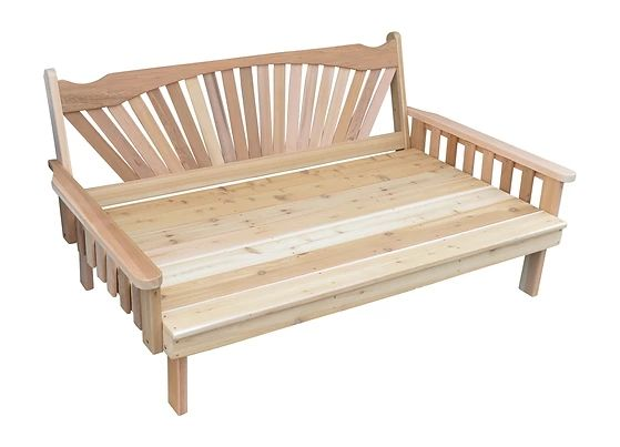 Outdoor Garden Furniture Fanback Daybed Made In USA