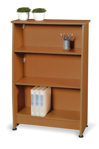 Ofminc Model 55125 Milano Series 3-Shelf Bookcase
