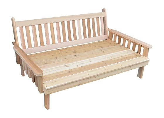 Outdoor Garden Furniture Traditional English Daybed Made In USA