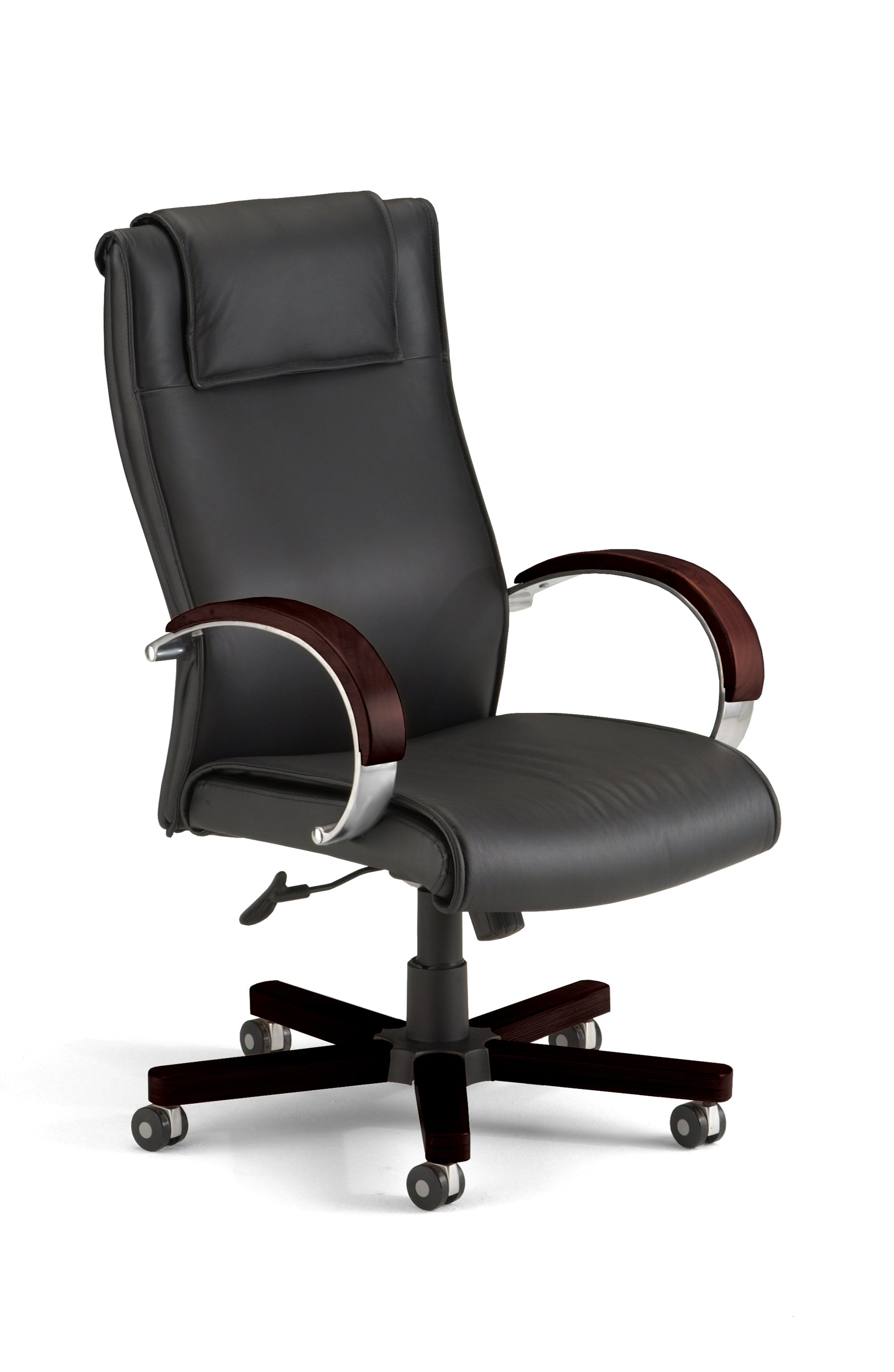 Model 560-L Apex Series High-Back Leather Executive Office Chair