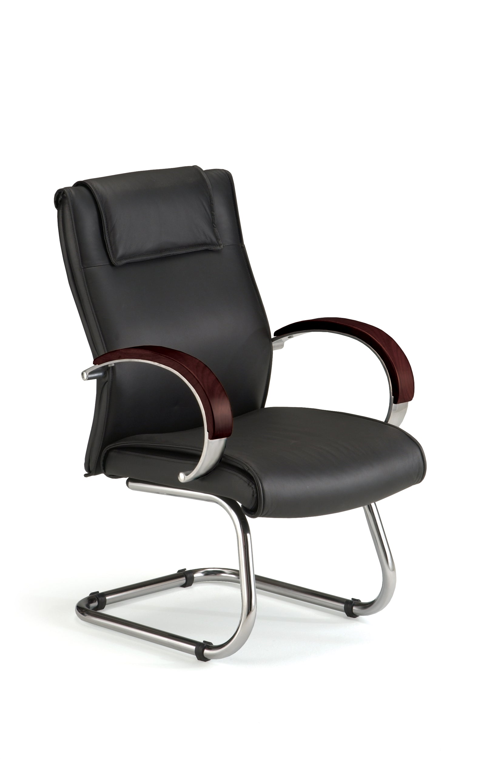 Model 565-L Apex Series Leather Executive Reception / Guest Chair