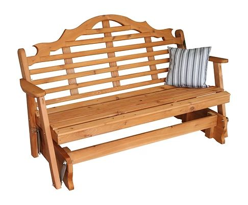 Outdoor Garden Furniture Marlboro Glider Made In USA