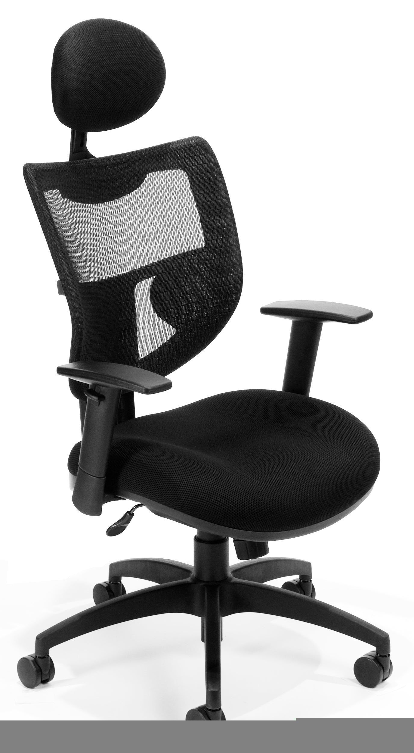 Model 580 Parker Ridge Series Mesh Executive Task Chair with Headrest