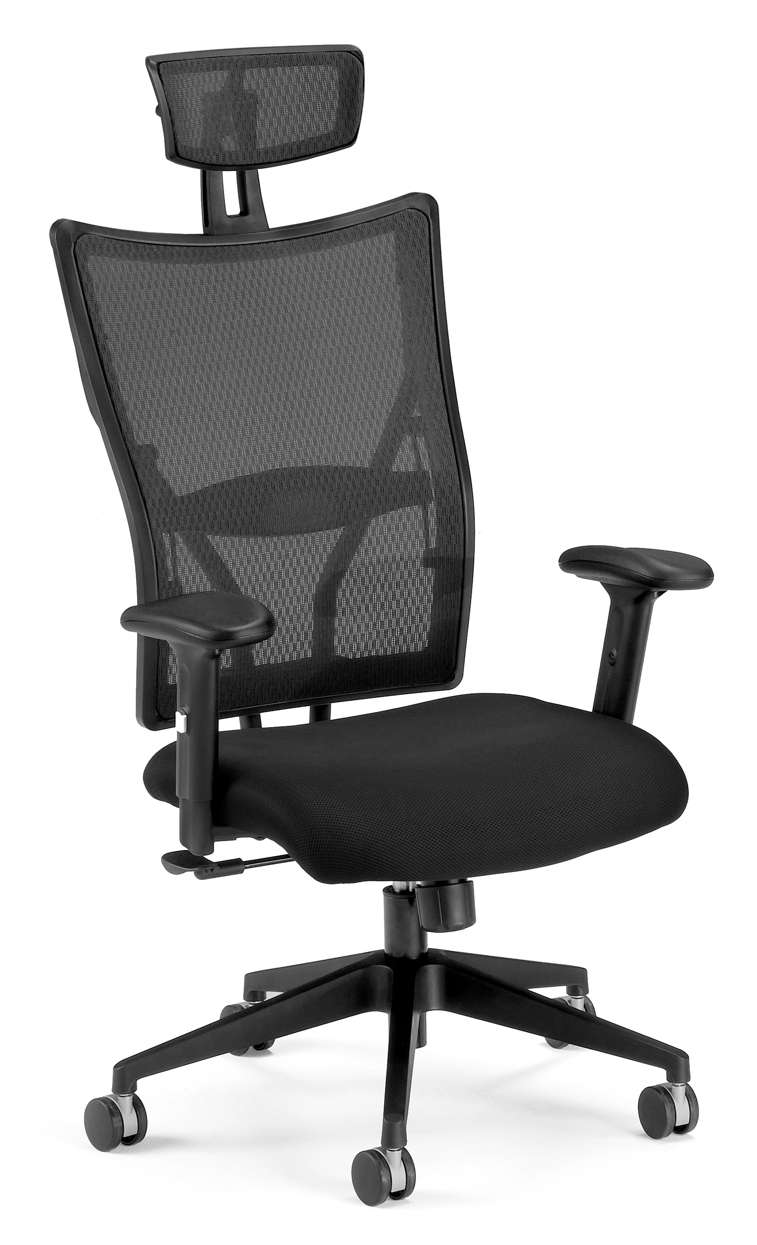 590-F Talisto Series High-Back Fabric / Mesh Office Headrest Chair