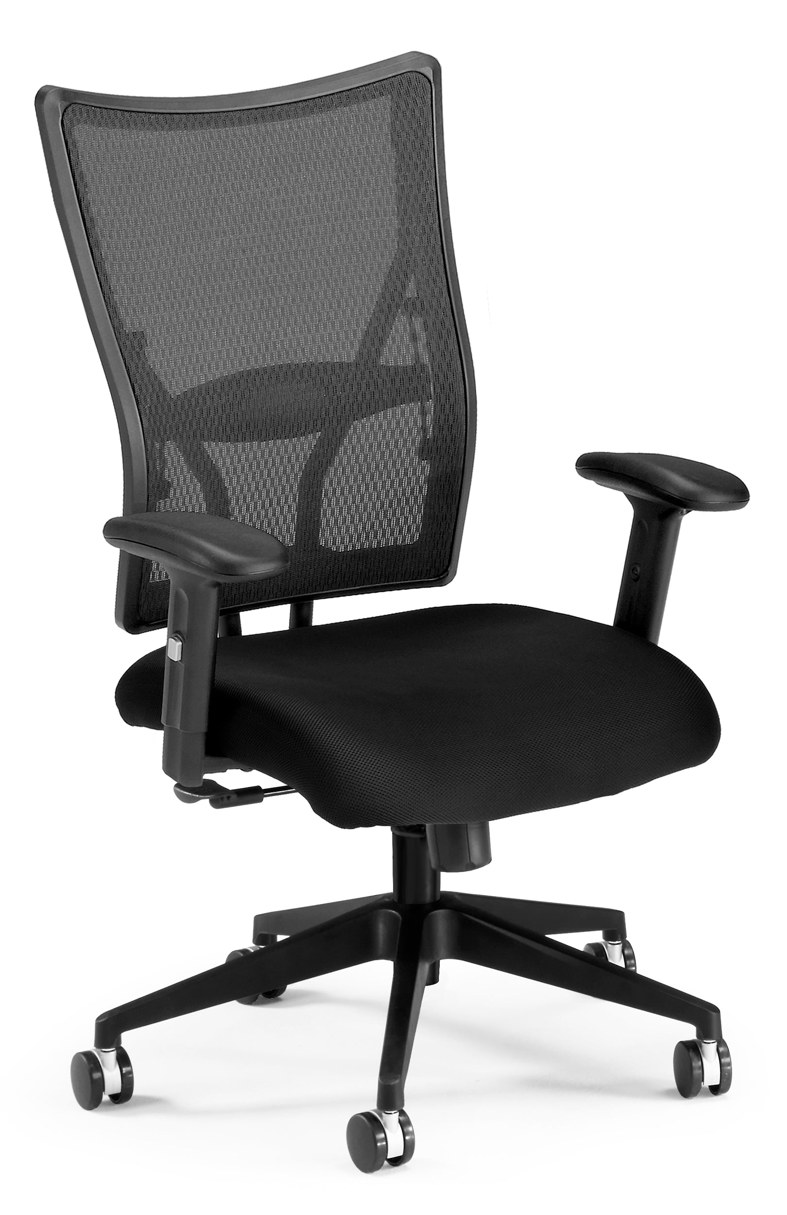591-F Talisto Series High-Back Fabric / Mesh Executive Office Chair