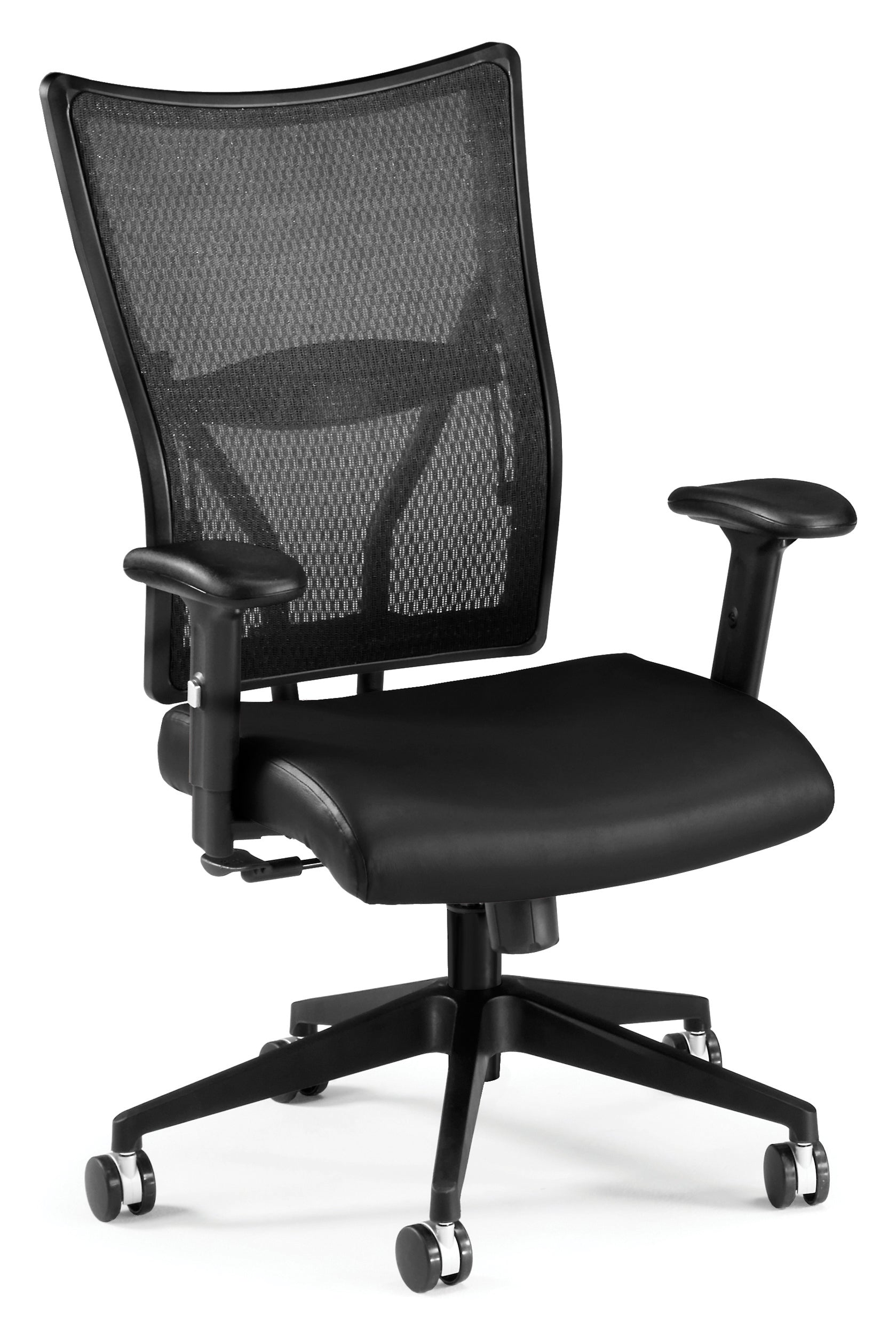 Model 591-L Talisto Series High-Back Leather / Mesh Office Chair